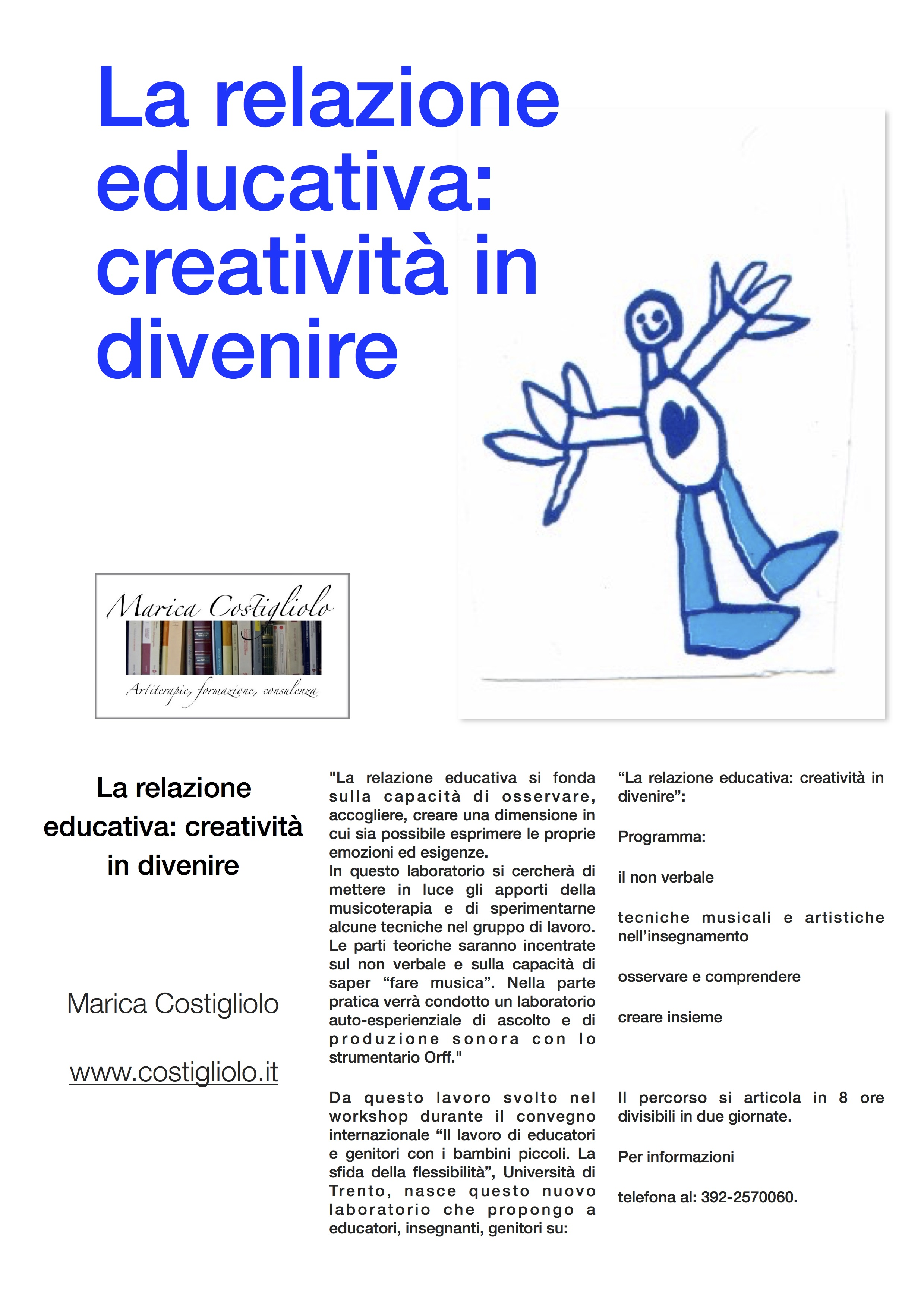 La relazione educativa: creatività in divenire
