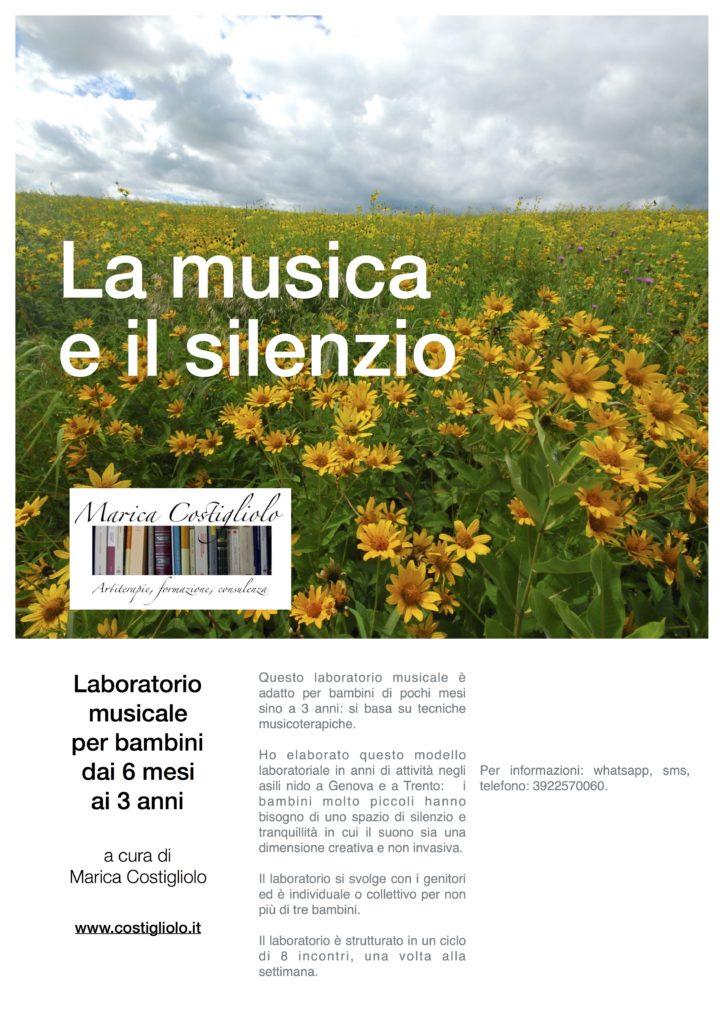 La musica e il silenzio