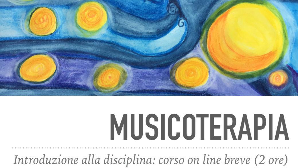 Corso breve on line di Musicoterapia