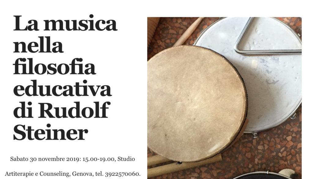 Rudolf Steiner e la Musica