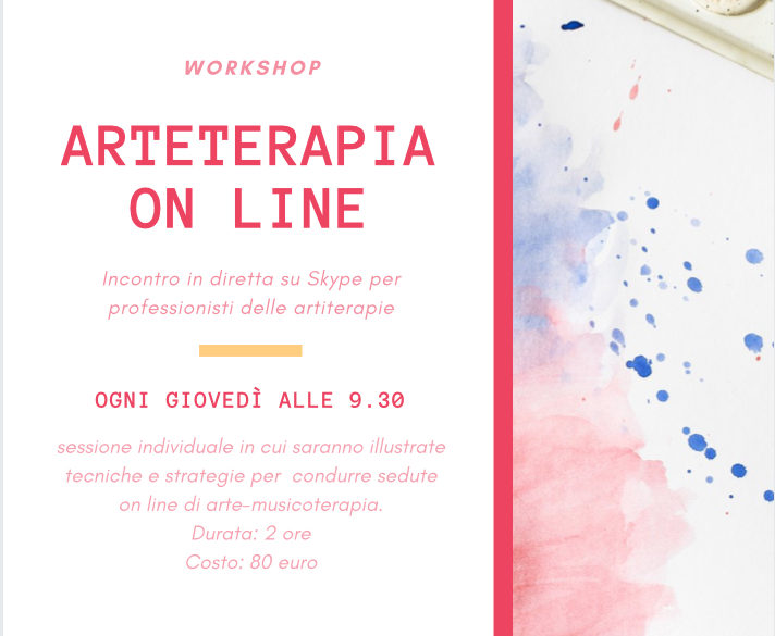 Artiterapie on line