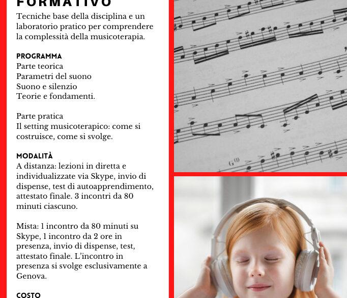 Corso: introduzione alla musicoterapia