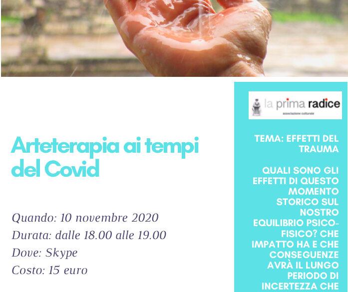 Arteterapia ai tempi del Covid, terzo incontro
