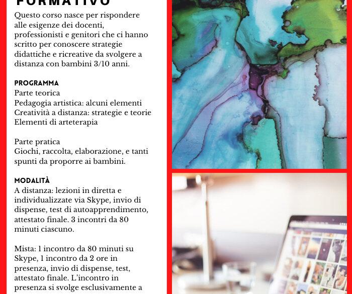 Corso: creatività on line