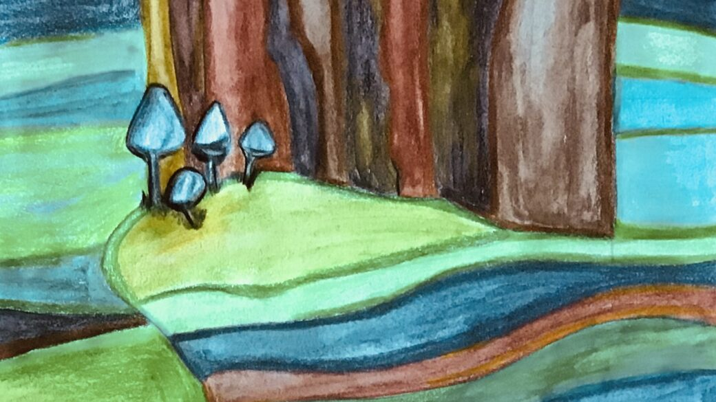 Nuovo disegno: Il bosco magico