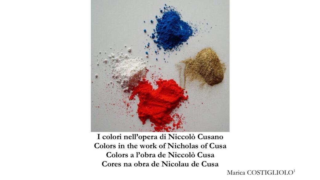 Nuovo articolo: i colori nell'opera di Nicola da Cusa