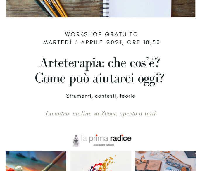 Workshop gratuito di Arteterapia